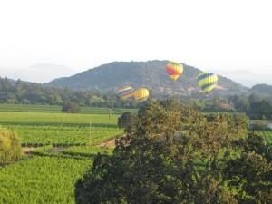 hot air balloons napa