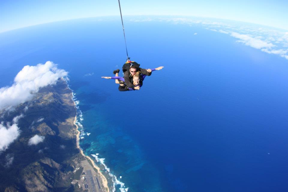 HI skydiving