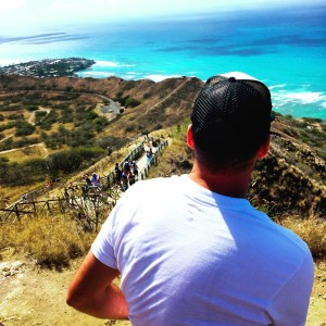 Chris Diamond Head View