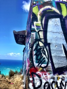 Lanikai Pillbox Graffiti