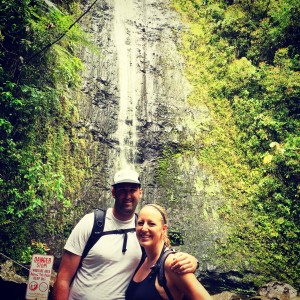 Robin Chris Manoa Falls