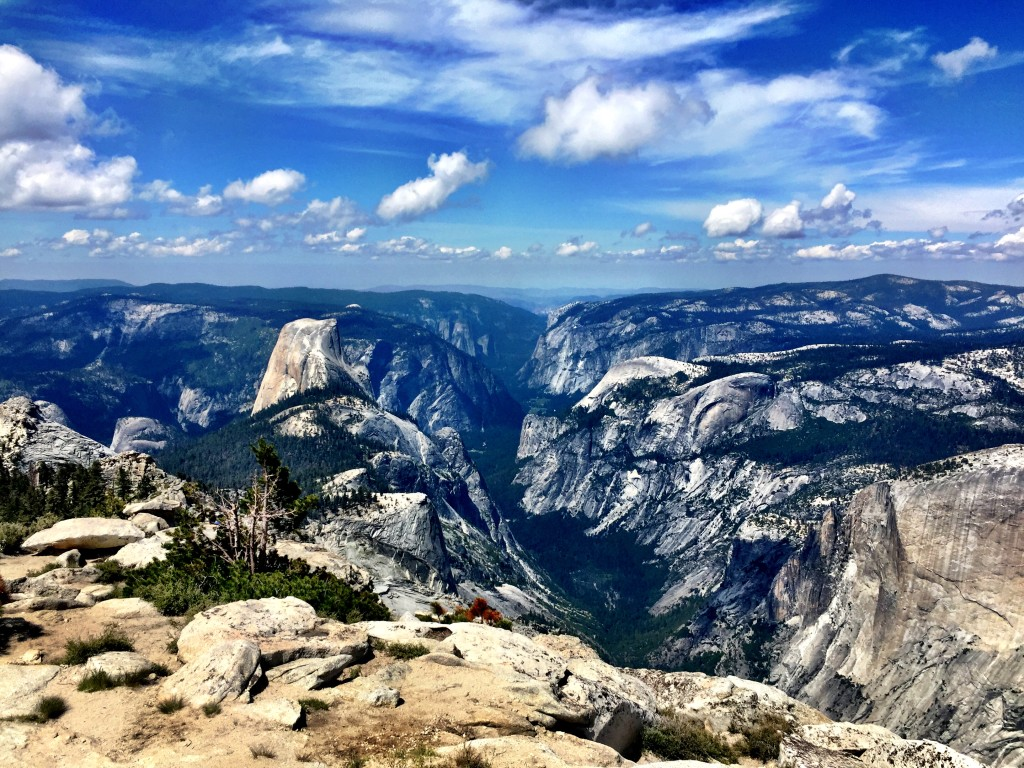 View of Half Dome from Clouds Rest