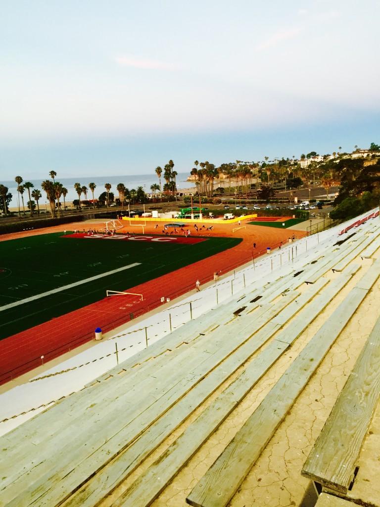 My Favorite Stadium Workout | CaliGirl Cooking