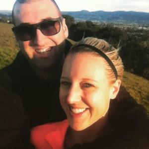 chris and i selfie westwood