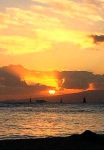 Kaimana Proposal Sunset 2
