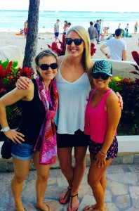 Two of my favorite ladies over on the islands! XOXO