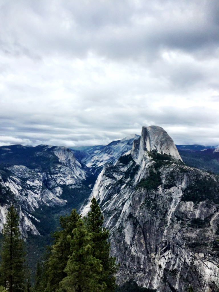 Half Dome from Glacier Point, Yosemite