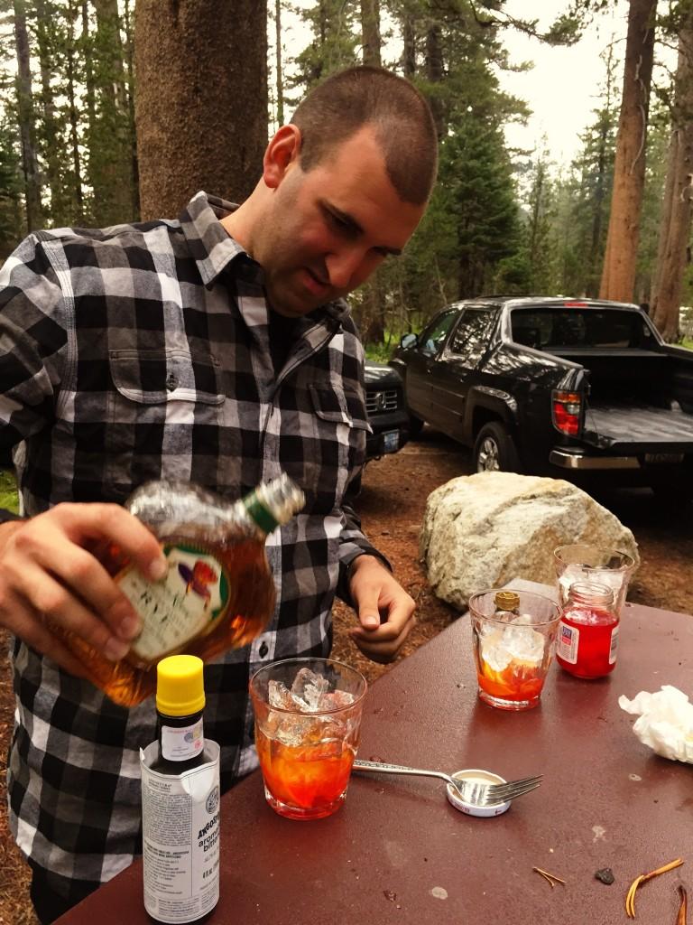 Old-Fashioneds in Yosemite